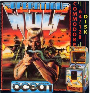 Cover for Operation Wolf.