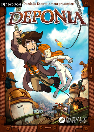 Cover for Deponia.