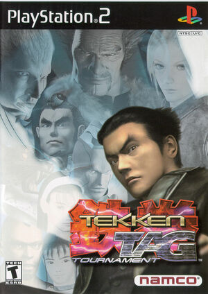 Cover for Tekken Tag Tournament.