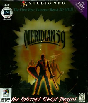 Cover for Meridian 59.