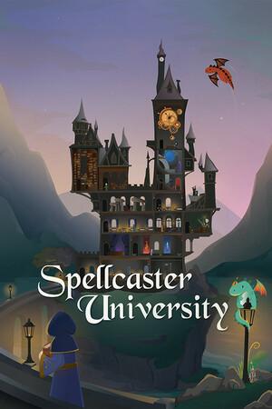 Cover for Spellcaster University.
