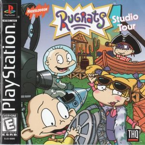 Cover for Rugrats: Studio Tour.