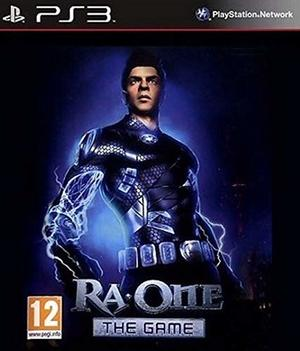 Cover for Ra.One: The Game.