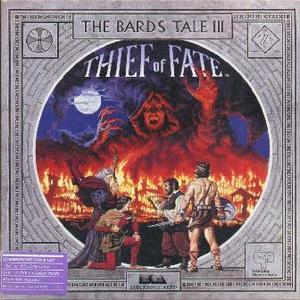 Cover for The Bard's Tale III: Thief of Fate.