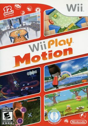Cover for Wii Play: Motion.