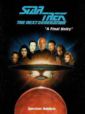 Cover for Star Trek: The Next Generation – A Final Unity.