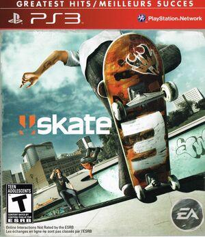 Cover for Skate 3.