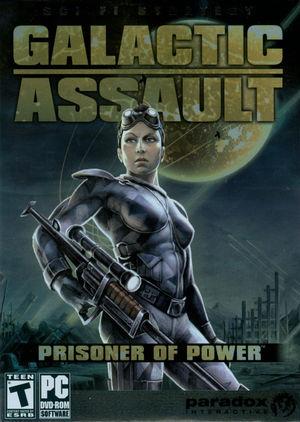 Cover for Galactic Assault: Prisoner of Power.