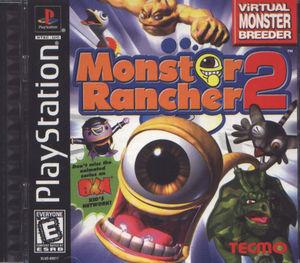 Cover for Monster Rancher 2.
