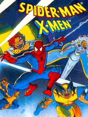 Cover for Spider-Man and the X-Men in Arcade's Revenge.