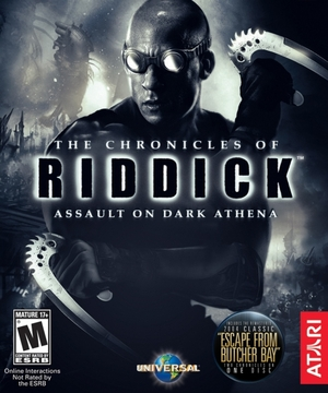 Cover for The Chronicles of Riddick: Assault on Dark Athena.