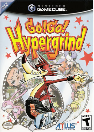 Cover for Go! Go! Hypergrind.