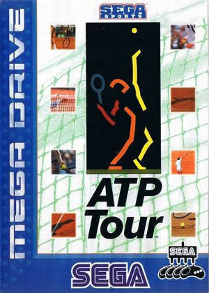 Cover for ATP Tour Championship Tennis.