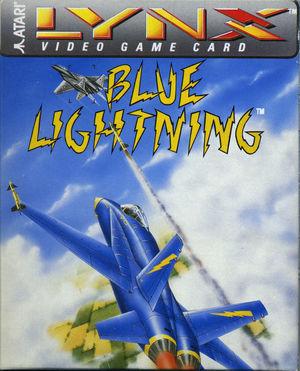 Cover for Blue Lightning.