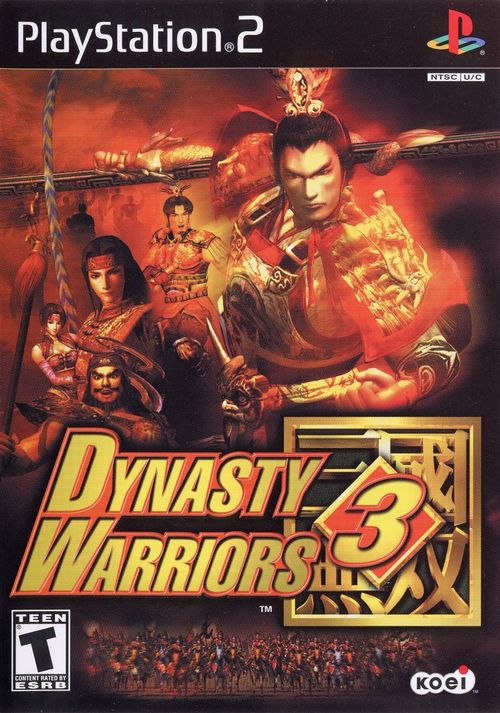 Cover for Dynasty Warriors 3.