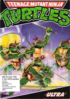 Cover for Teenage Mutant Ninja Turtles.