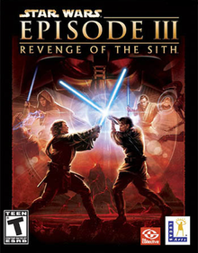 Cover for Star Wars Episode III: Revenge of the Sith.