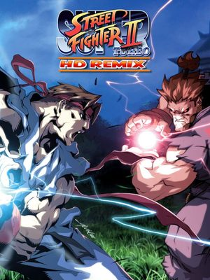 Cover for Super Street Fighter II Turbo HD Remix.