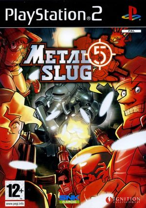 Cover for Metal Slug 5.