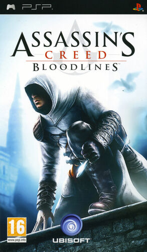 Cover for Assassin's Creed: Bloodlines.