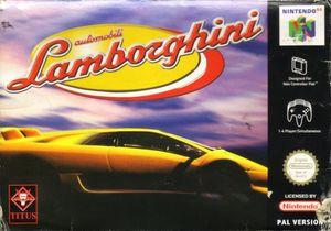 Cover for Automobili Lamborghini.