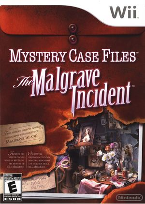 Cover for Mystery Case Files: The Malgrave Incident.