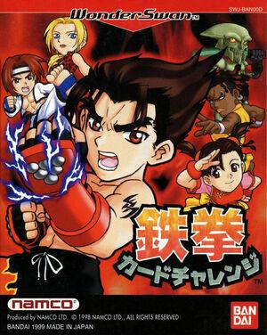 Cover for Tekken Card Challenge.