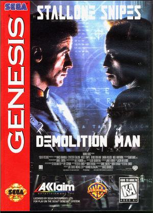 Cover for Demolition Man.
