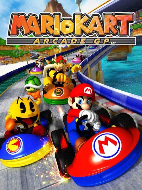 Cover for Mario Kart Arcade GP.