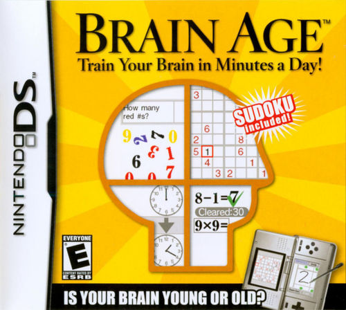 Cover for Brain Age: Train Your Brain in Minutes a Day!.