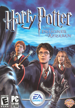 Cover for Harry Potter and the Prisoner of Azkaban.