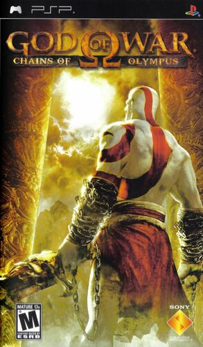 Cover for God of War: Chains of Olympus.