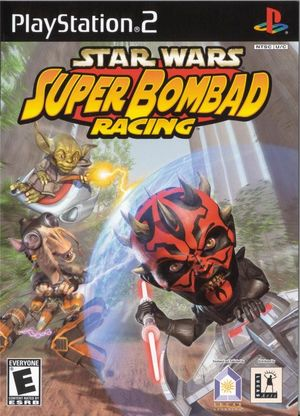 Cover for Star Wars: Super Bombad Racing.