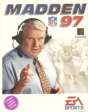 Cover for Madden NFL 97.