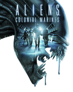 Cover for Aliens: Colonial Marines.