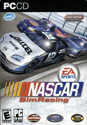 Cover for NASCAR SimRacing.