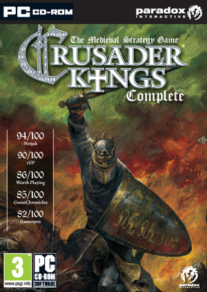 Cover for Crusader Kings.