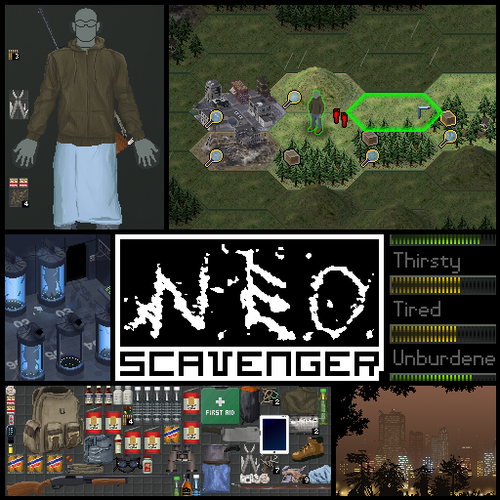 Cover for NEO Scavenger.