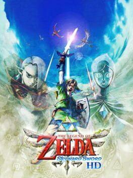 Cover for The Legend of Zelda: Skyward Sword HD.