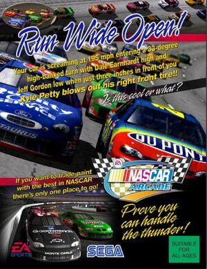 Cover for NASCAR Arcade.
