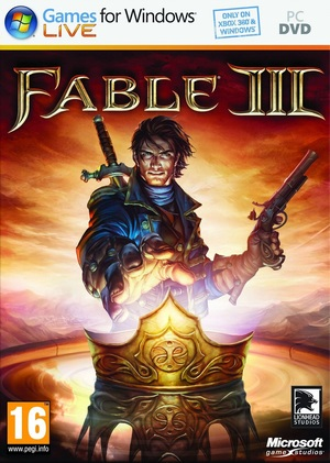 Cover for Fable III.