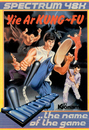 Cover for Yie Ar Kung-Fu.
