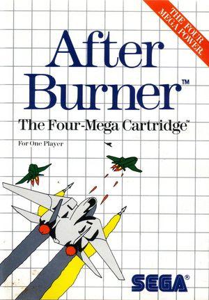 Cover for After Burner.