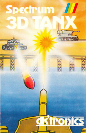 Cover for 3D Tanx.