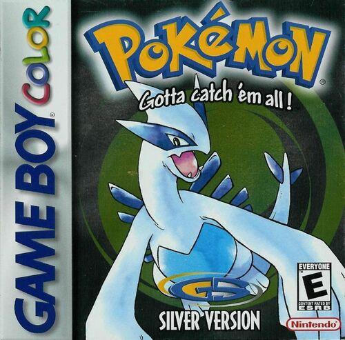 Cover for Pokémon Silver.