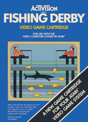 Cover for Fishing Derby.