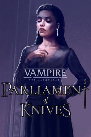 Cover for Vampire: The Masquerade – Parliament of Knives.
