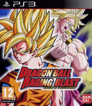 Cover for Dragon Ball: Raging Blast.