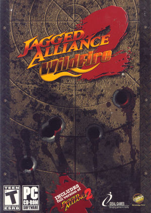 Cover for Jagged Alliance 2: Wildfire.