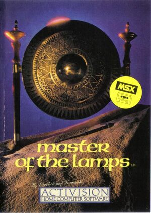 Cover for Master of the Lamps.